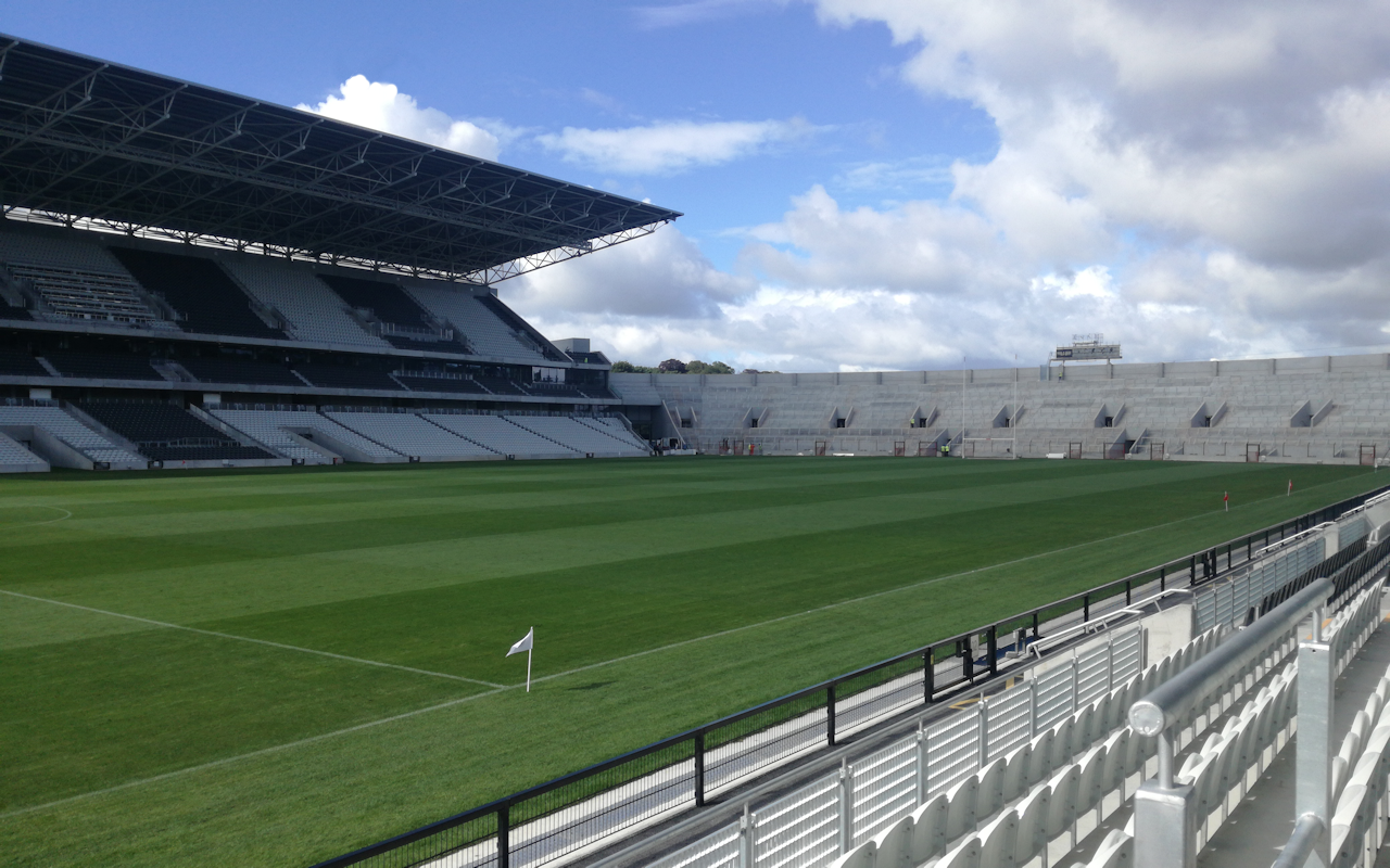 Quality Assurance checks and costs monitored using PIMeo at Pairc Ui Chaoimh Stadium